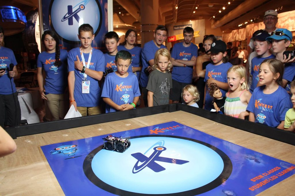 Part of our Summer Camp for Kids and Teens involves a Robotics Competition that takes place at Maker Faire Detroit