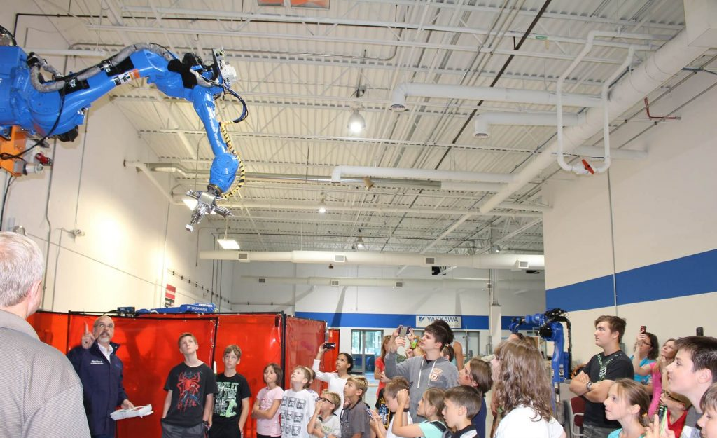 in our summer camps kids learn about coding robotics and more we also did a robotics tour