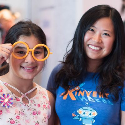 Maker Faire Detroit Kinvert helped girls learn STEM 3D Printing affordable glasses for disabled