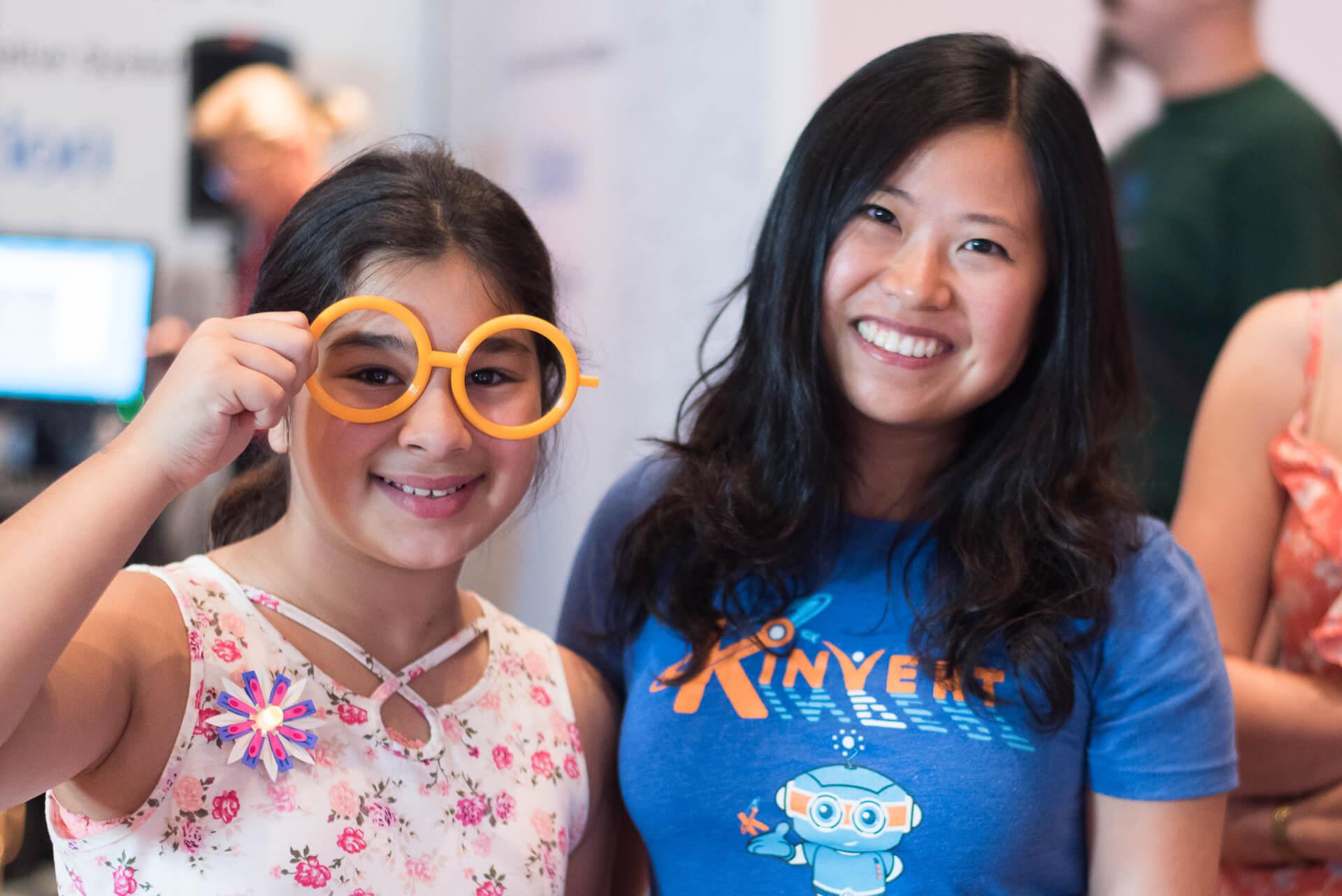 Maker Faire Detroit Kinvert helped girls learn STEM 3D Printing affordable glasses for disabled