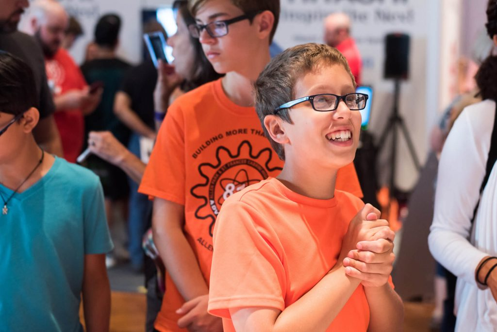 Each year Kinvert goes to Maker Faire Detroit in The Henry Ford to get kids excited about STEM
