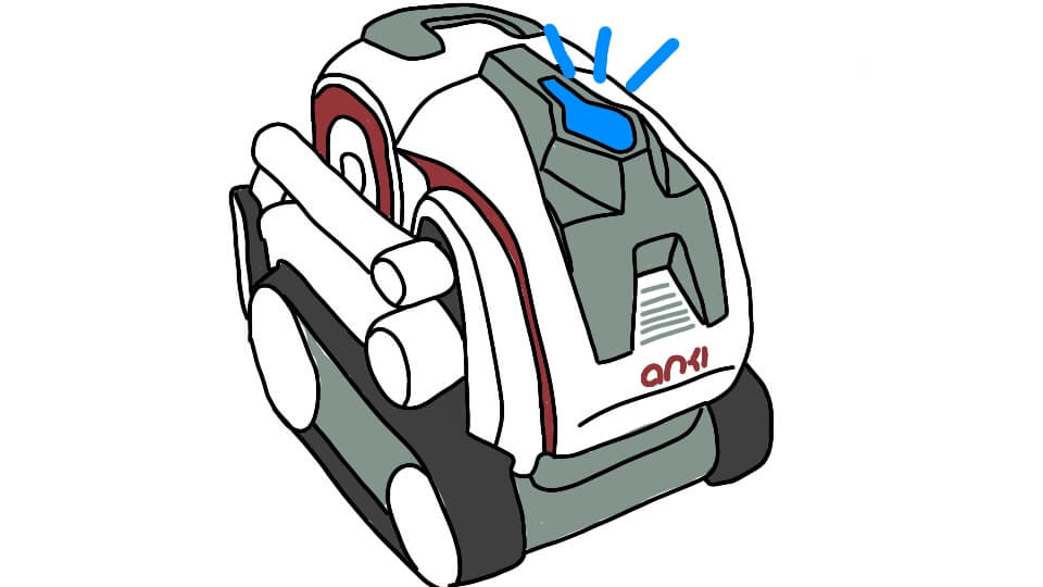 Kinvert controls the anki cozmo backpack lights using rgb in python set_center_backpack_lights