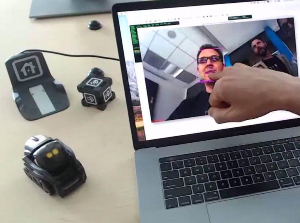 Anki Vector SDK Facial Recognition in Python