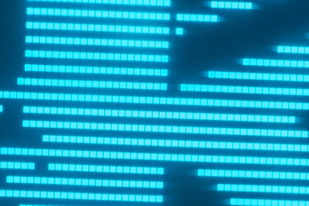 Cozmo face screen oled display comparing Kinvert logo pixels