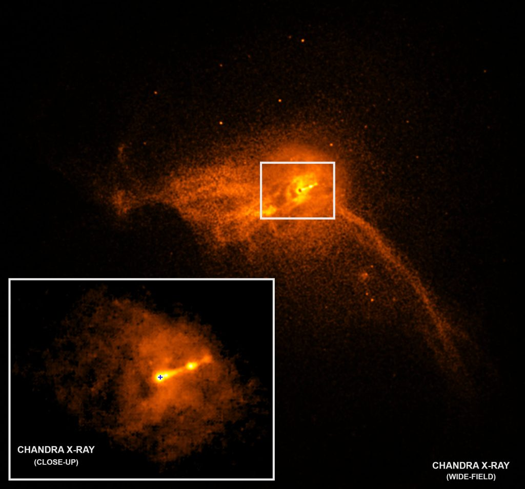 first black hole picture nasa chandra x-ray observatory