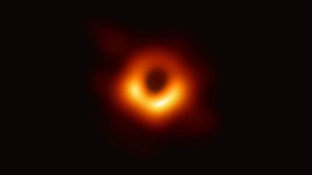 First black hole picture ever taken by event horizon telescope shows event horizon and accretion disk